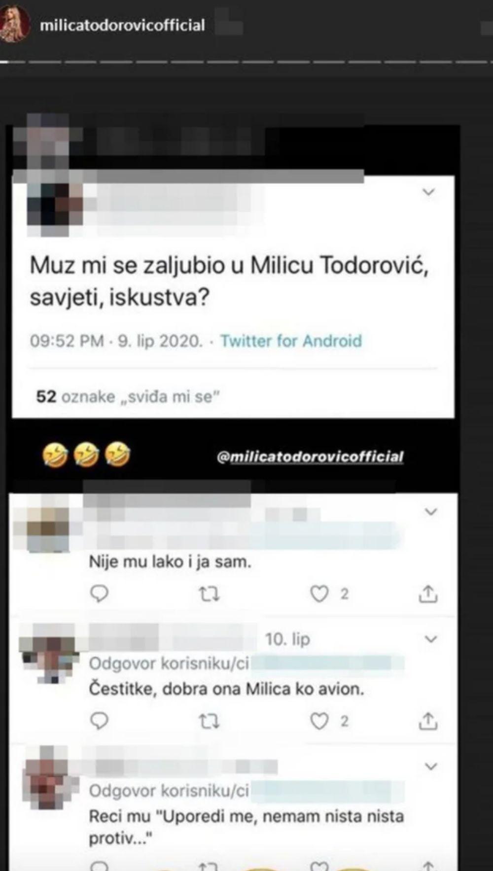 Milica Todorović na meti OŽENJENOG MUŠKARCA! Evo kako je odreagovala!