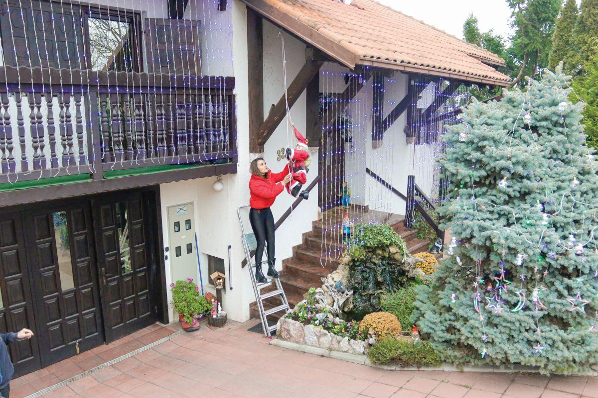 Tamara Milutinović ukrašava kuću u Rušnju