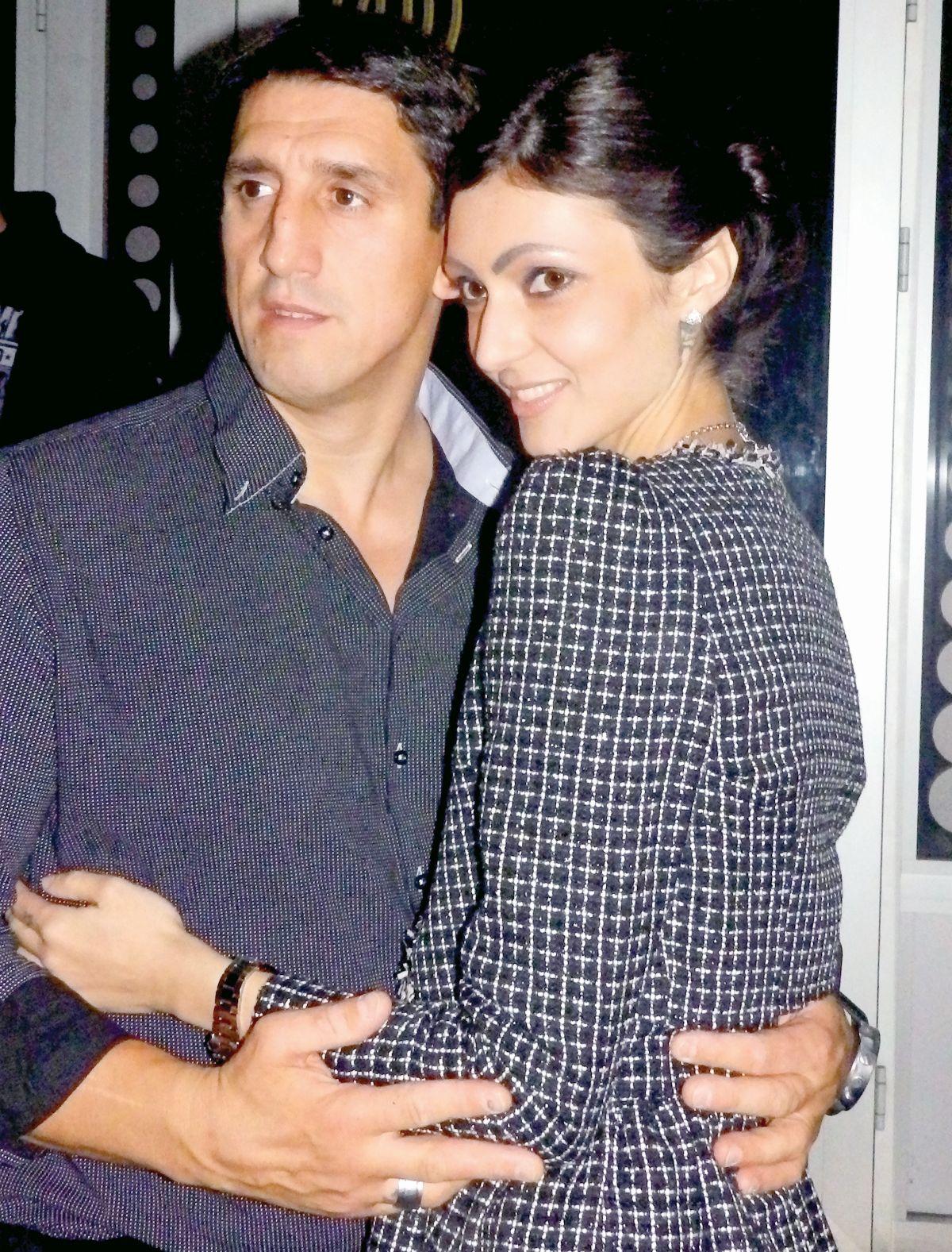 Kristijan Golubović sa ženom Ivanom