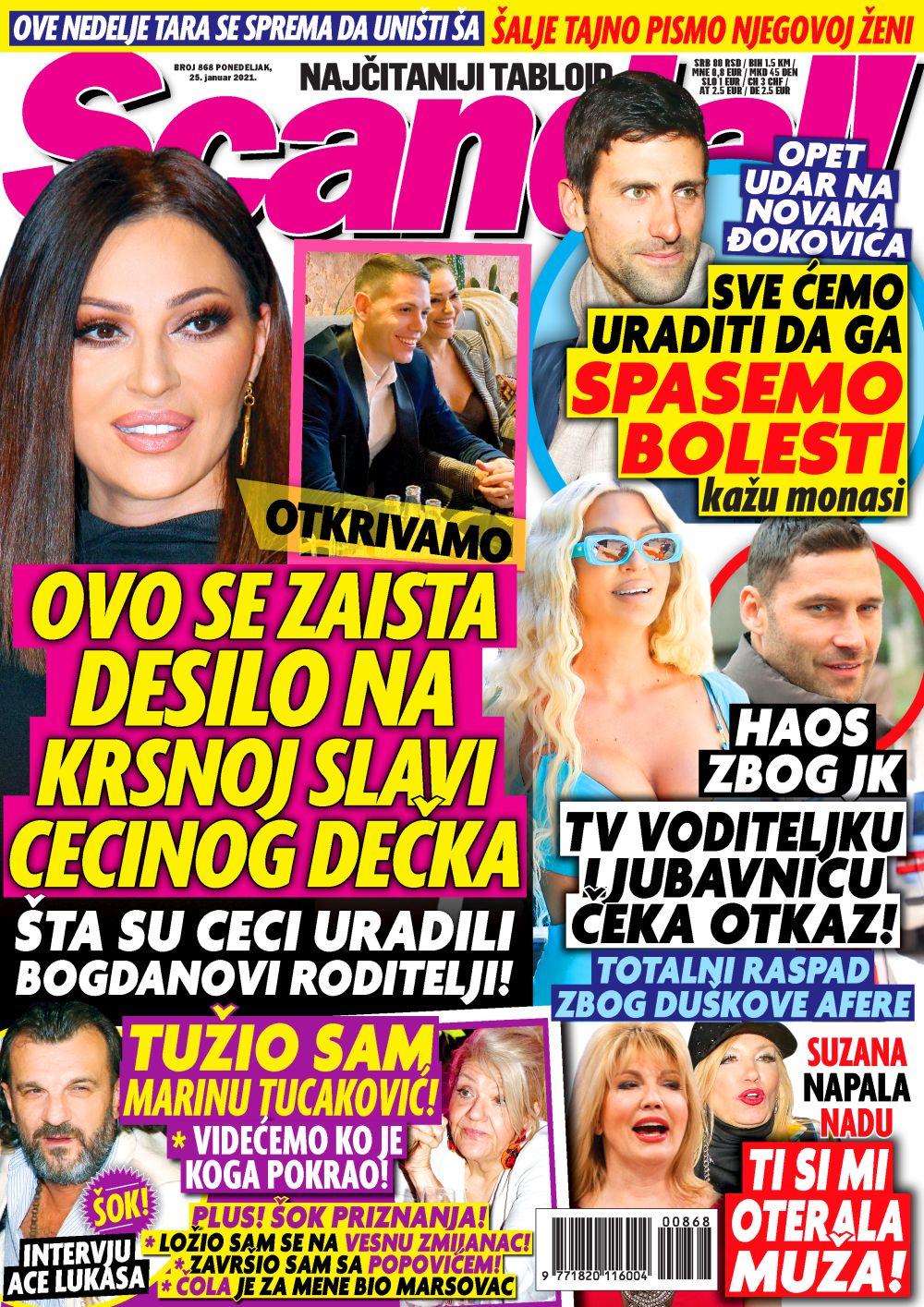 Scandal! naslovna 24.01.