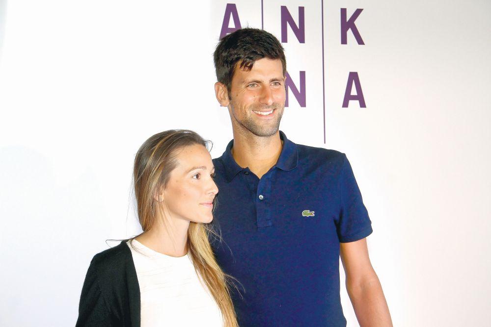 Novak Đoković, Jelena Đoković